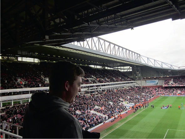 Anticipation ahead of West Ham-Arsenal, 2016 (Photo