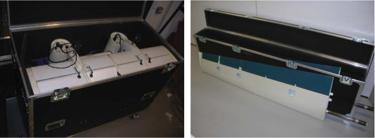Transport and storage cases