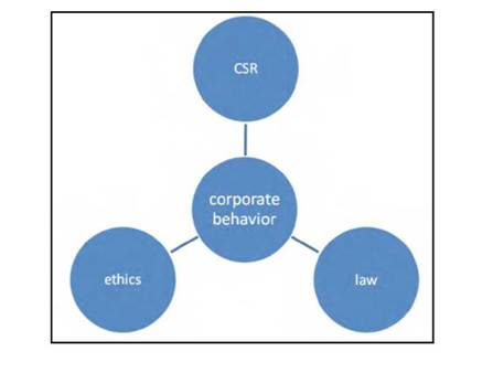 The components of Corporate behaviour