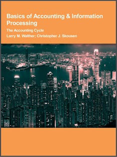 Basics of Accounting & Information Processing - Larry M. Walther