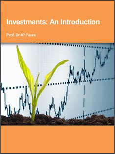 Investments: An Introduction - Dr AP Faure