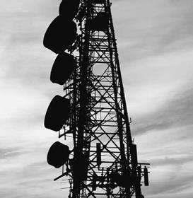 Microwave towers enhance communications and are an important feature of a country's economic infrastructure.