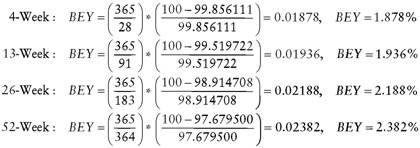Bond equivalent yield vs yield to maturity