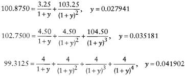 Calculating And Using Implied Spot Zero Coupon Rates Bond Math