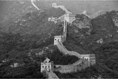 The immense Great Wall of China is the most famous man-made structure that is visible from outer space.