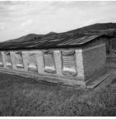 A building at the Murambi Technical School in Rwanda remains as a memorial to the 40,000 people who were killed there during the 1994 genocide.