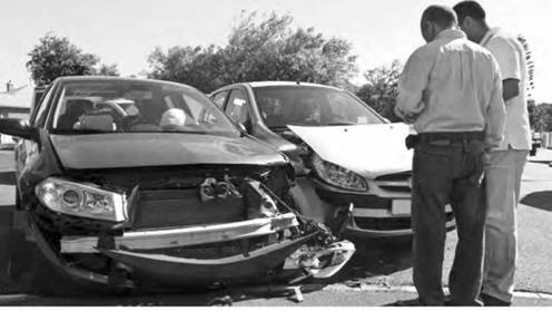 A case involving an auto accident falls under the classification of