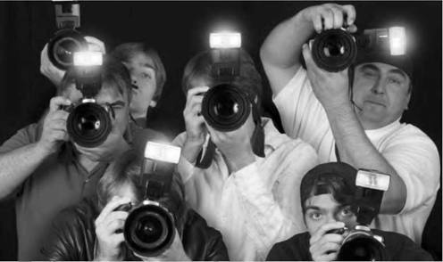 The paparazzi are often despised by celebrities because they intrude on personal lives. Sometimes, these actions can reach the point of being considered illegal, despite laws protecting freedom of the press (iStock).