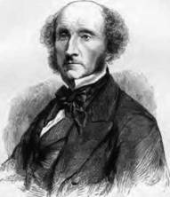 John Stuart Mill was a Member of Parliament, political theorist, economist, and philosopher who was a utilitarianian (Art Archive).