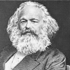 Karl Marx viewed human history in terms of a continuing struggle between economic classes (iStock).