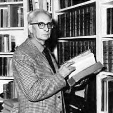Claude Lévi-Strauss applied theories of language systems to the ways people relate to each other (AP).