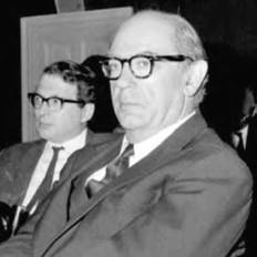 Isaiah Berlin was famous for his work on ideals of liberty in democratic societies (AP).