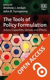 The tools of policy formulation - Andrew J.Jordan